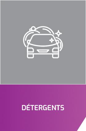 detergents nettoyage voiture