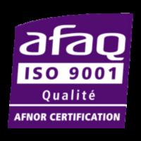 logo afaiso 9001 qualité